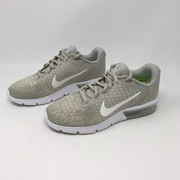 best website c0249 c8298 Air Max Sequent 2 Pale Gray Light Bone 852465-011. NWT. Nike